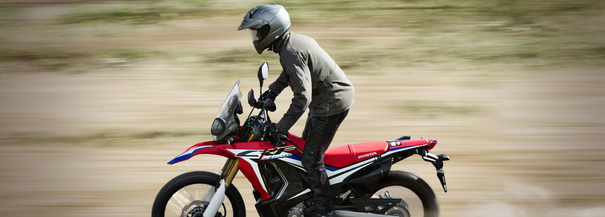 CRF250 RALLY Abenteuer überall